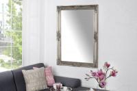 Vintage strieborné nástenné zrkadlo