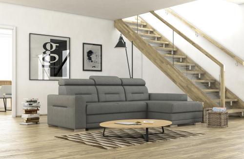 Jednoduchá obývačka v odtieňoch prírodných farieb