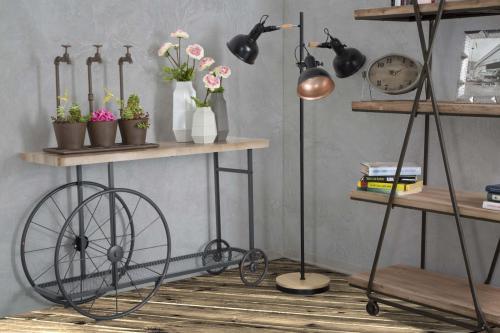 Doplnky a dekorácie do obývačky v industriálnom štýle