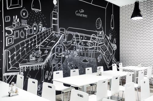 Kreslená zážitková stena v Cantina Gourmet