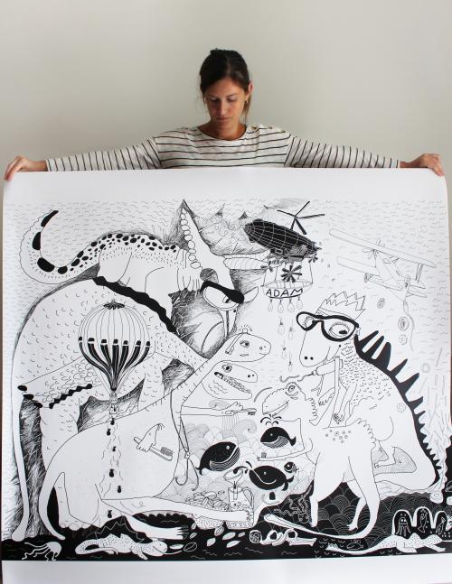 Obrazová tapeta Dinosaury