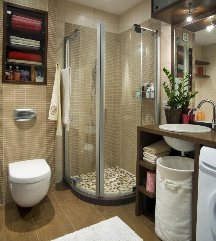 Ako zariadiť malú kúpeľňu - #646