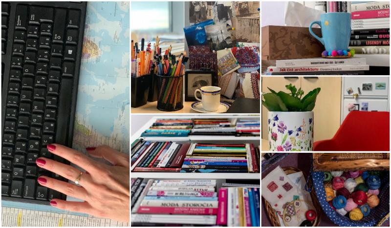 V kancelárii a domácej pracovni Ivany Klepáčovej – Mademoiselle IVA