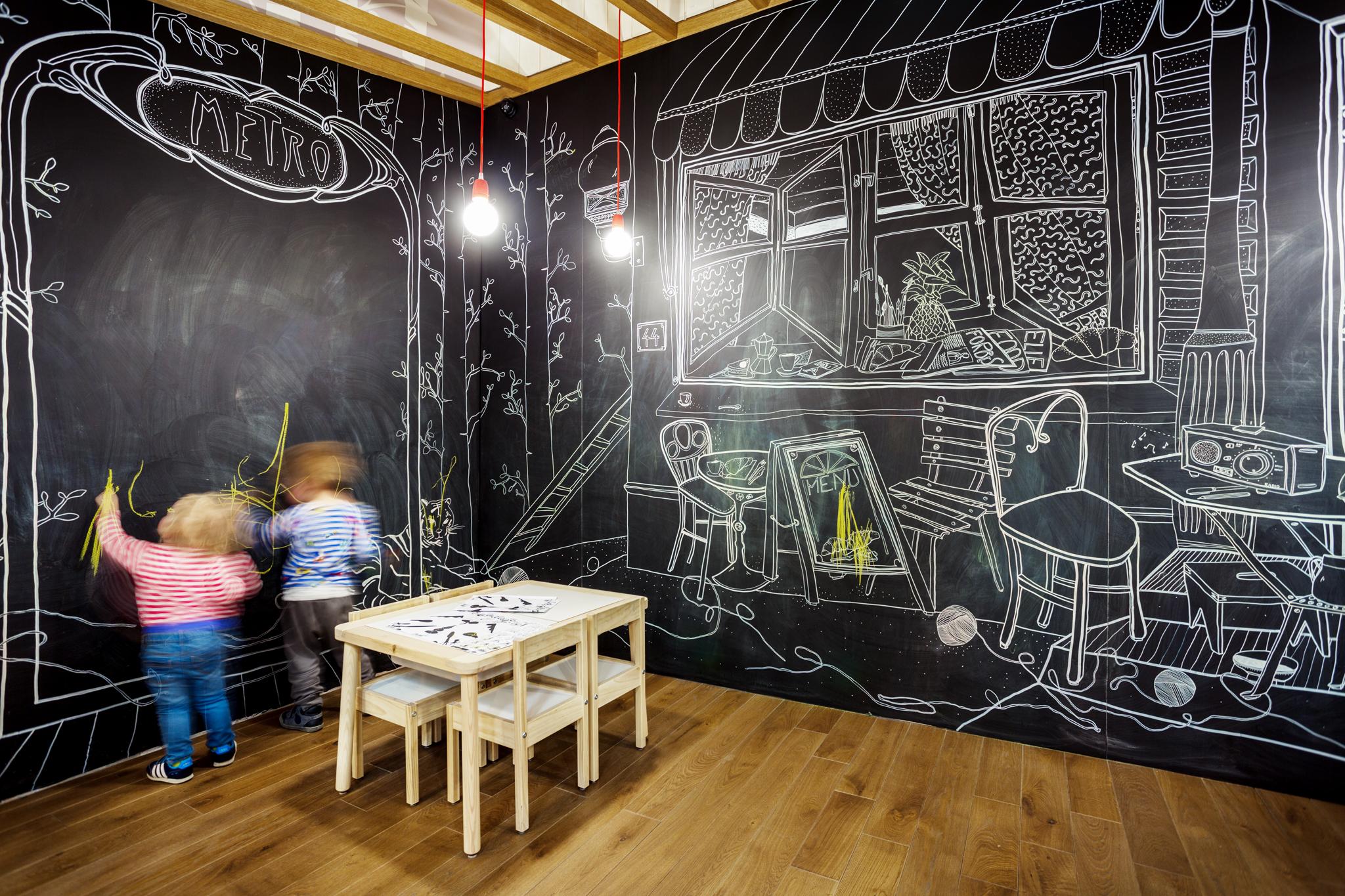 Kreslí na steny detských izieb - dinosaury či pamätihodnosti Bratislavy