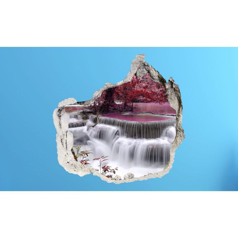 3D fototapeta, Vodopád, 100 x100cm