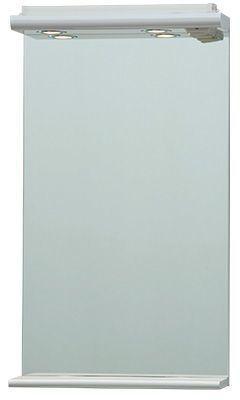 A-Interiéry - Zrkadlo závesné s LED osvetlením a policou Sabina 50 Z sabina 50Z