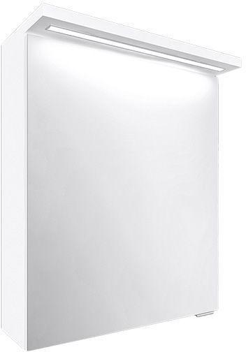 A-Interiéry - Zrkadlová skrinka závesná s LED osvetlením Elis W 50 ZS elis w 50zs