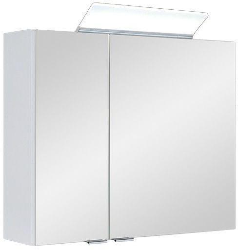 A-Interiéry - Zrkadlová skrinka závesná s LED osvetlením Livie W 70 ZS Livie w 70zs