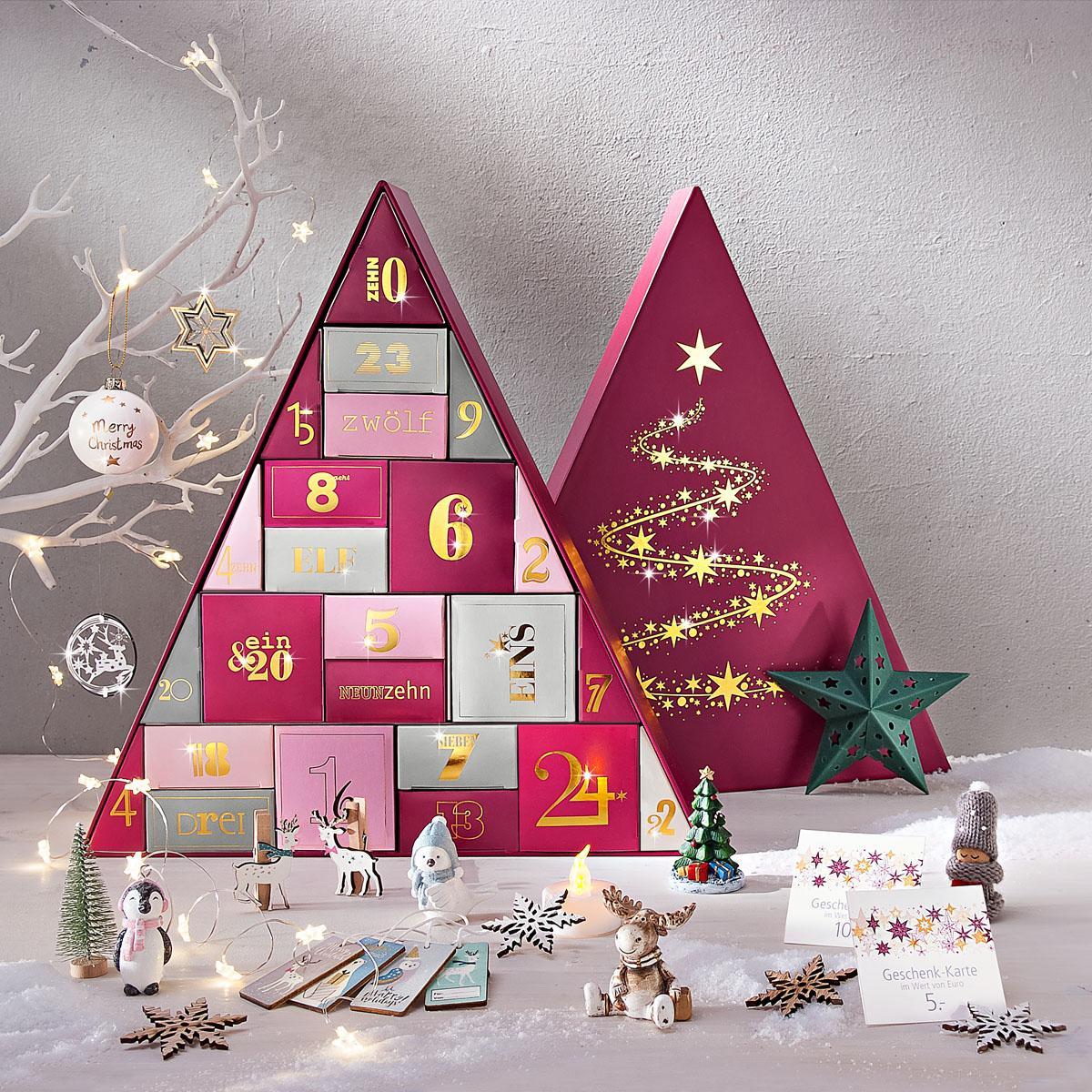 Adventný kalendár s drobnými darčekmi