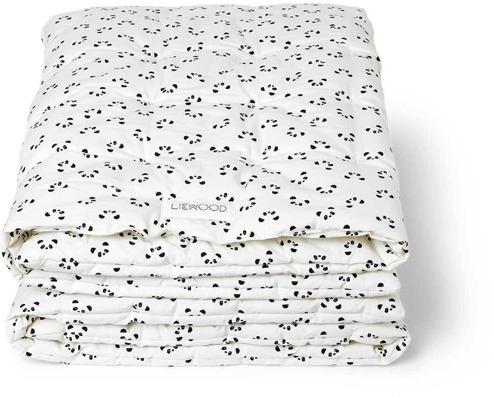 AGNES detská deka - Panda a krémová