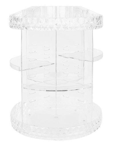 Akrylový kozmetický organizér Isot 9638, transparentný