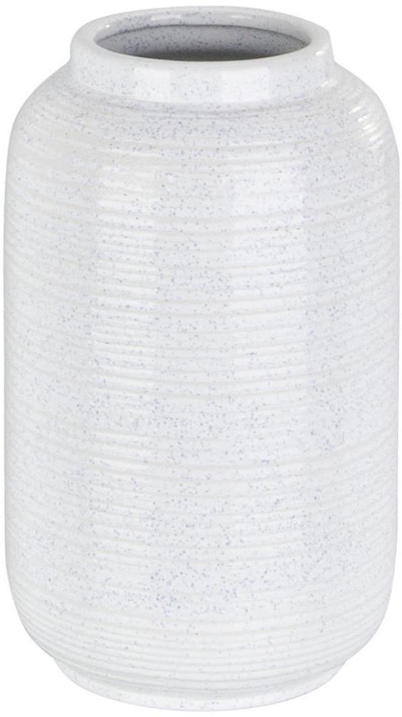 Ambia Home VÁZA, keramika, 31.5 cm - biela