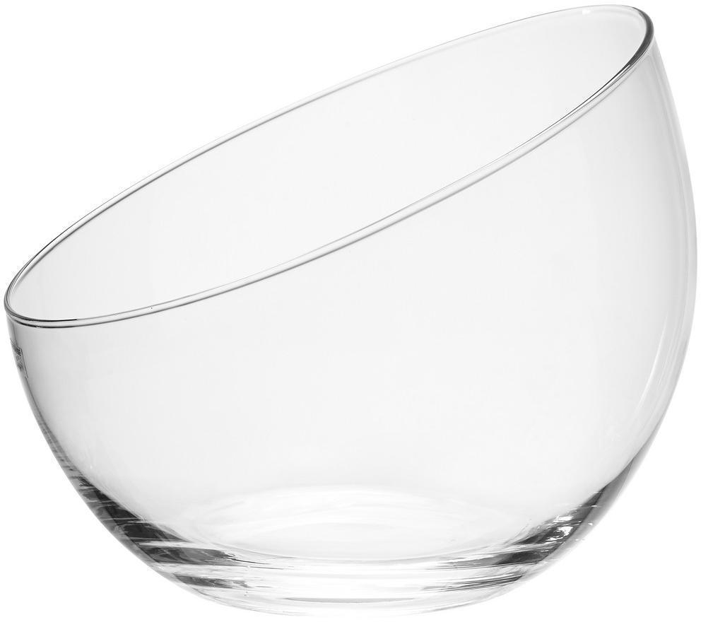 Ambia Home VÁZA, sklo, 19 cm - číre