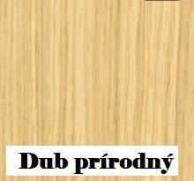 ArtBed Komoda Modern Farba: Dub