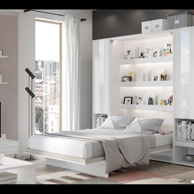 ArtDig Sklápacia posteľ Bet Notion BC-01 140x200 biela