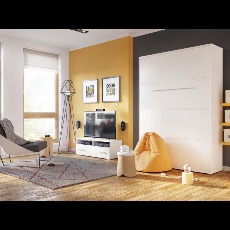 ArtDig Sklápacia posteľ Notion Pro NP-01 140x200/biely lesk
