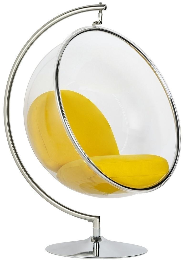 ArtKing Kreslo BUBBLE STAND Farba: Žltá