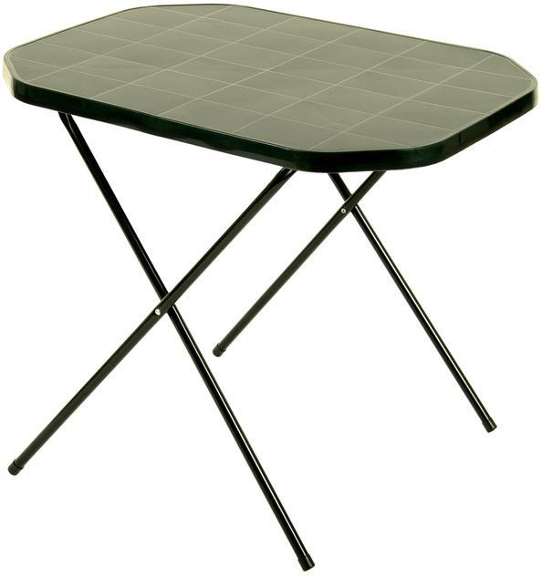 ArtRoja Stôl CAMPING 53x70 - zelený