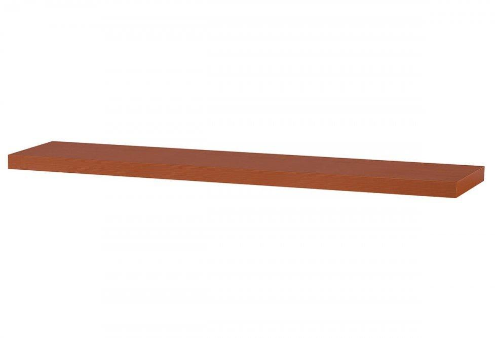 AUTRONIC P-002 TR polička nástenná 120x24x4cm, čerešňa