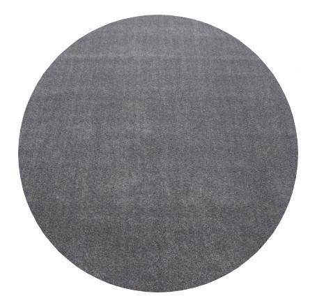 Ayyildiz koberce Kusový koberec Ata 7000 lightgrey kruh - 200x200 (průměr) kruh cm