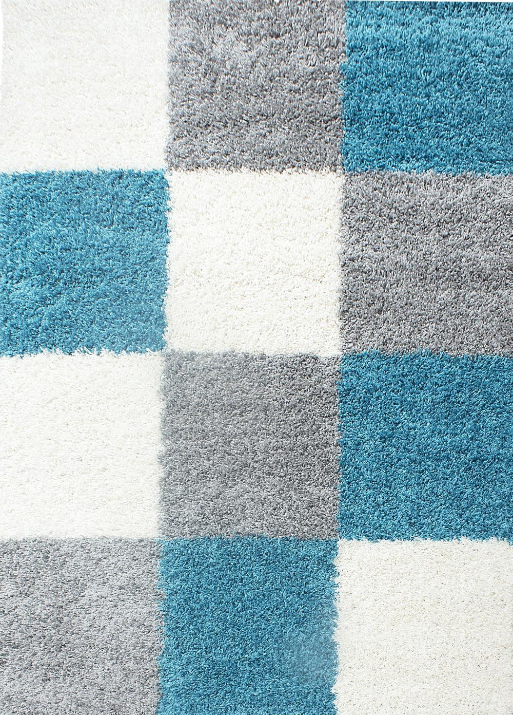 Ayyildiz koberce Kusový koberec Life Shaggy 1501 tyrkys - 80x150 cm