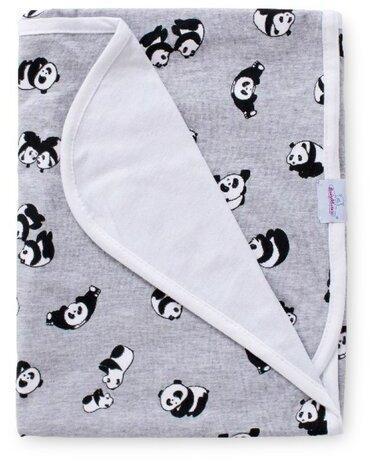 Babymatex Detská deka Bamboo panda, 75 x 100 cm