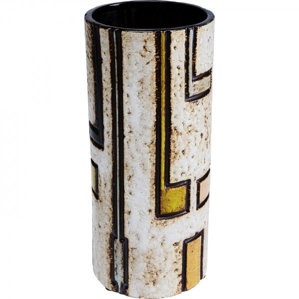 Barevná keramická váza Jolly 31cm
