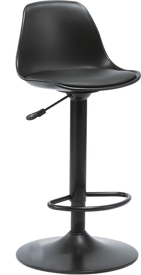 Barová stolička, čierna, DOBBY