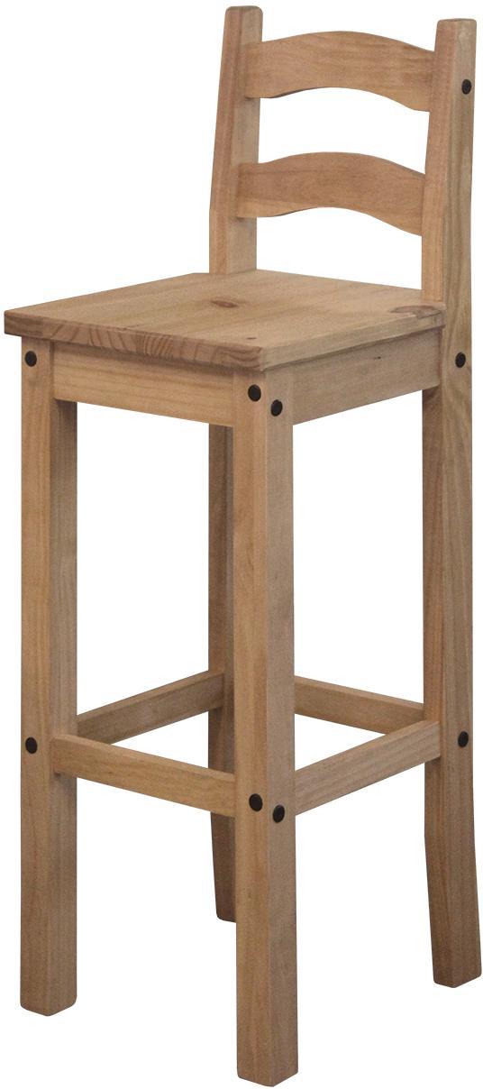 Barová stolička CORONA 2 vosk 1628