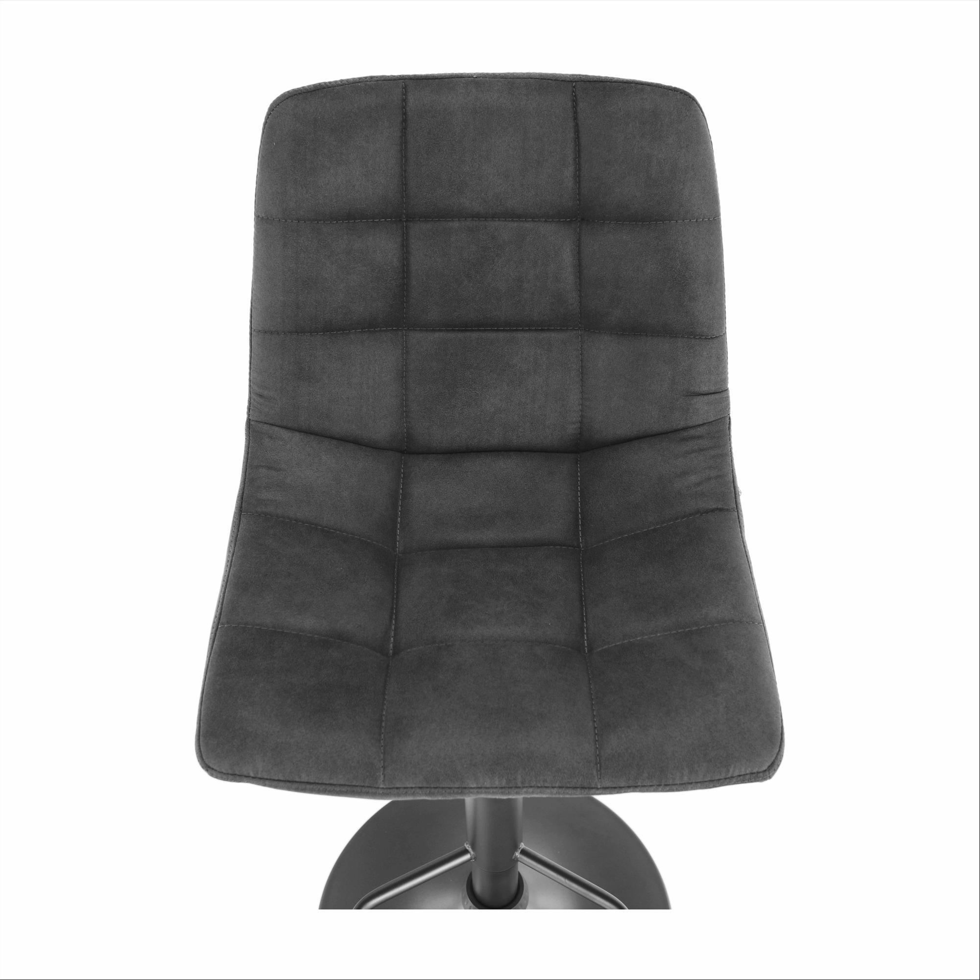 Barová stolička, sivá/čierna, LAHELA
