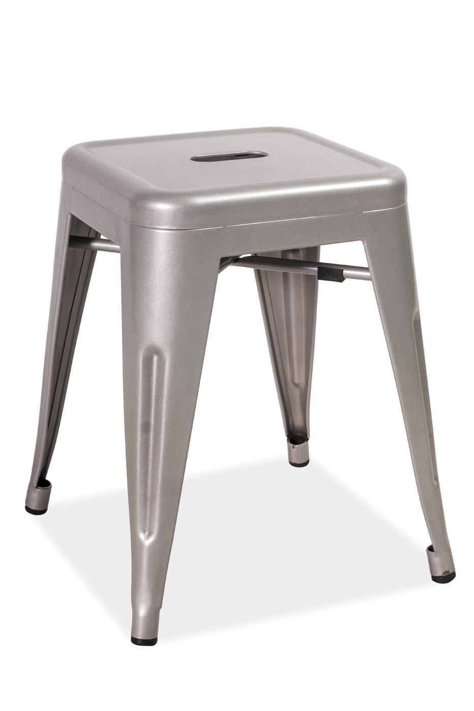 Barová stolička Spot (aluminium)