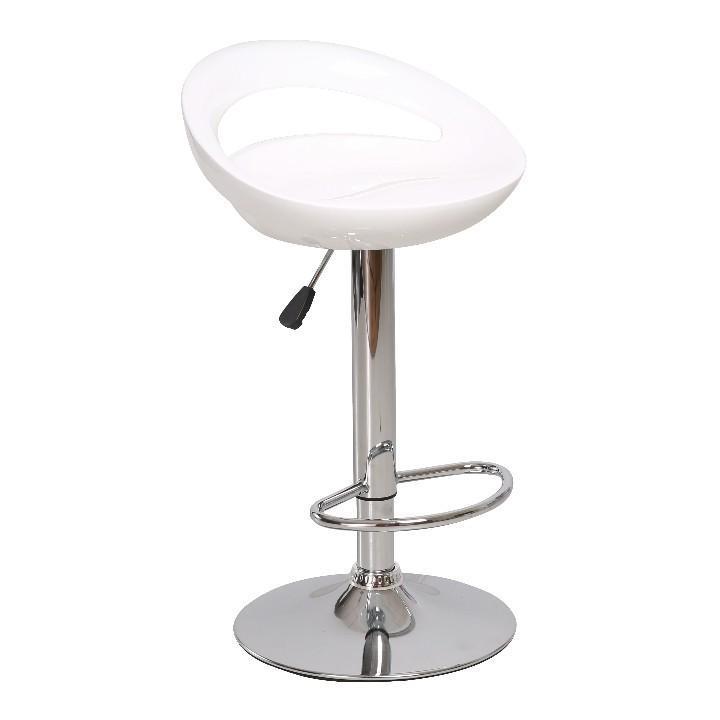Barová stolička Drymen Nove biela