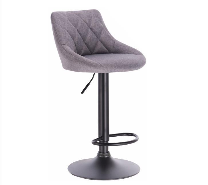 Barová stolička Terkan (sivá)