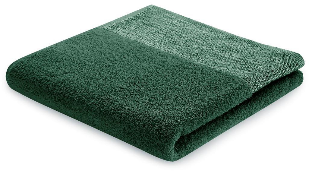 Bavlněný froté ručník ARICA 50x90 cm, tmavě zelená, 460 g/m2 Mybesthome