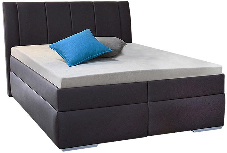 BEATRIX 140x200 čalúnená posteľ s úložným priestorom