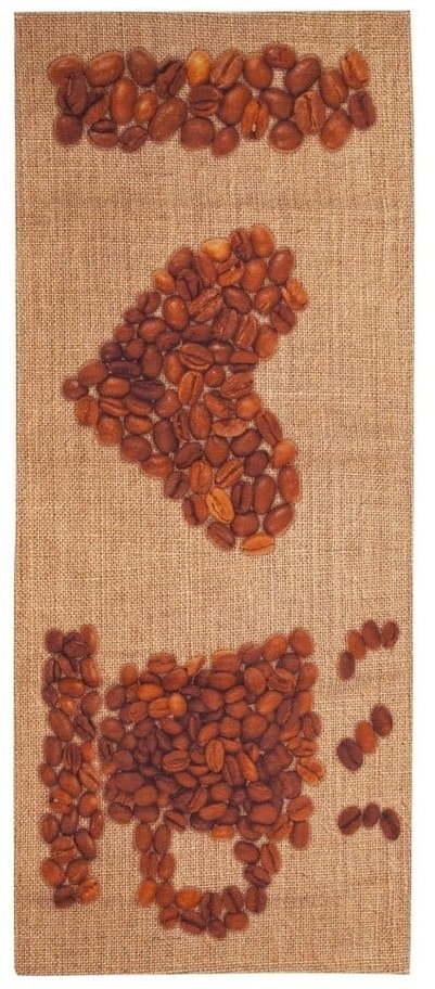 Behúň Floorita Love Coffee, 60 x 150 cm