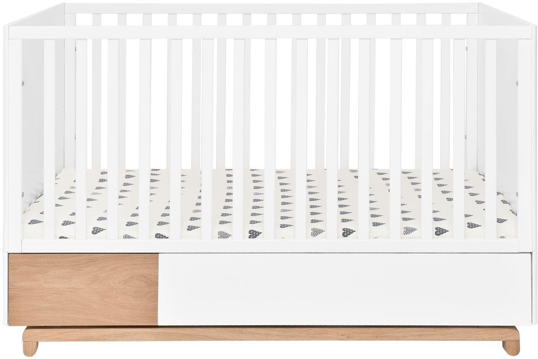 Bellamy Detská postieľka NOMI 70 x 140 cm s úložným boxem