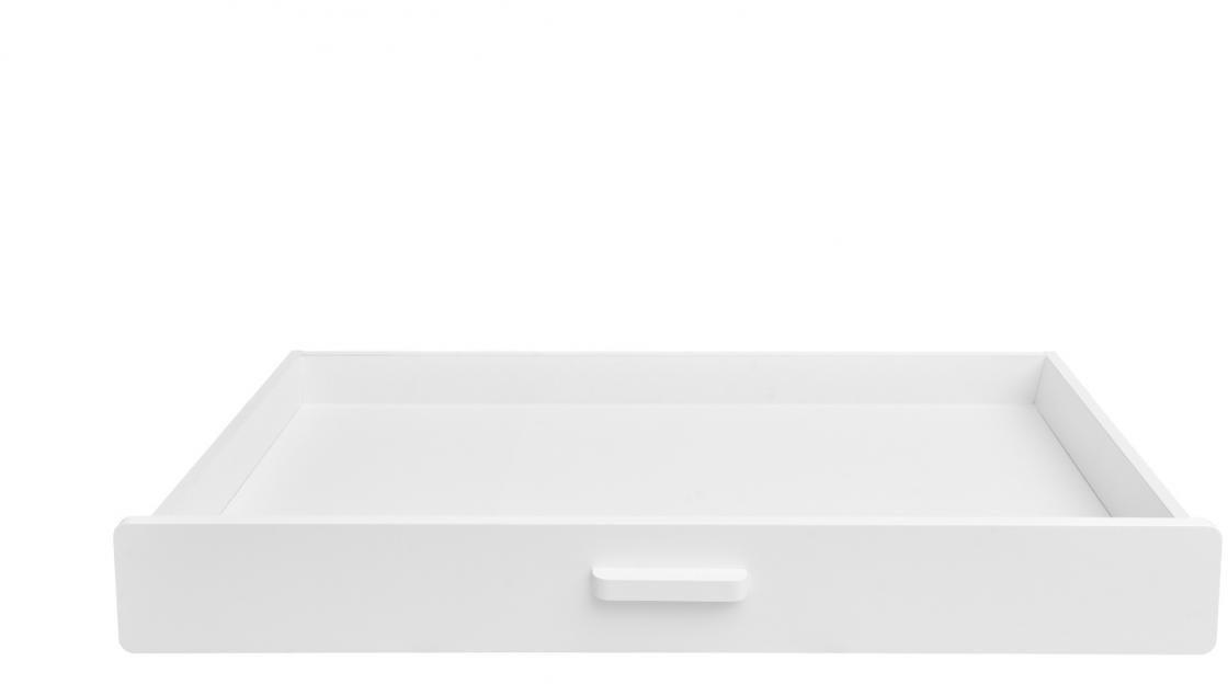 BELLAMY Hoppa úložná zásuvka pod posteľ, biela/drevo