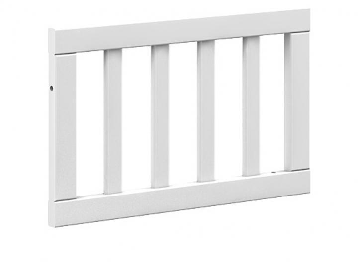BELLAMY Lotta detská zábrana do postele, matná biela/drevo