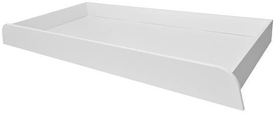 BELLAMY UP úložná zásuvka na kolieskach pod posteľ, biela
