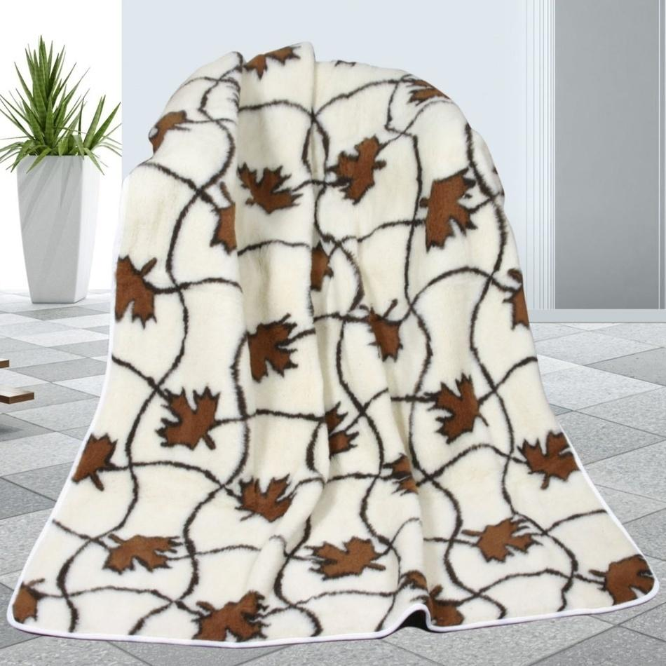 Bellatex Vlnená deka Javor, 155 x 200 cm