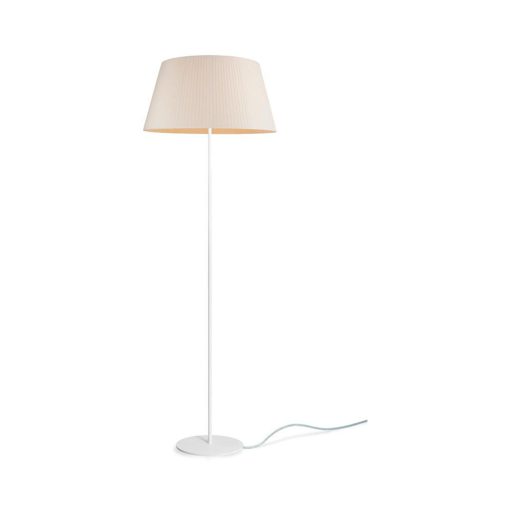 Béžová stojacia lampa Sotto Luce KAMI Elementary L 1F