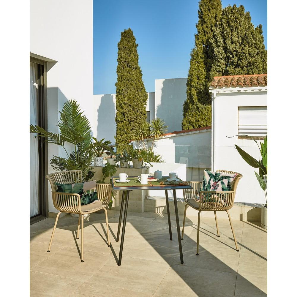 Béžová záhradná stolička La Forma Surpika