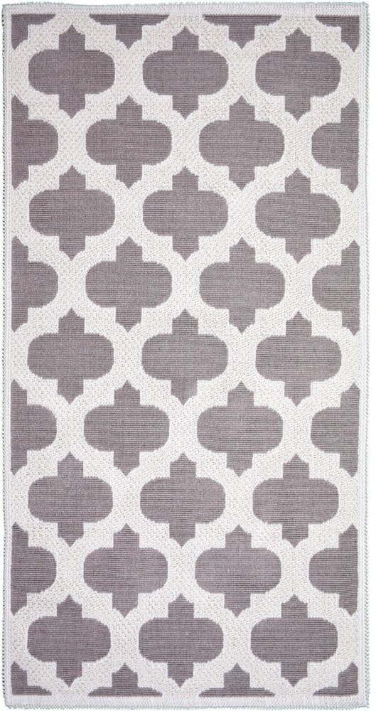 Béžový bavlnený koberec Vitaus Madalyon 100 x 150 cm