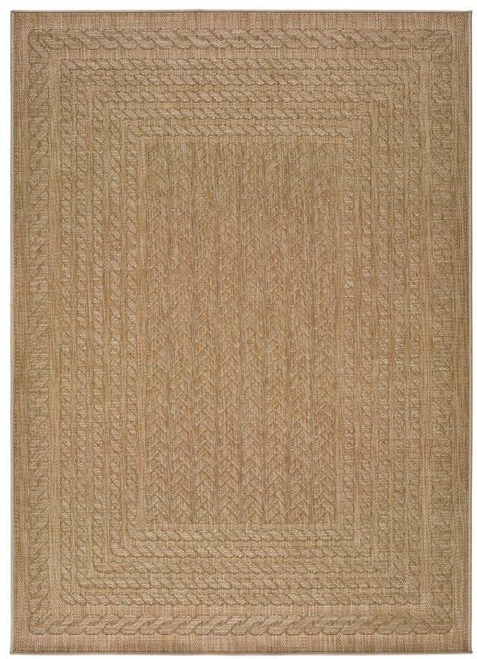 Béžový vonkajší koberec Universal Jaipur Berro, 80 x 150 cm