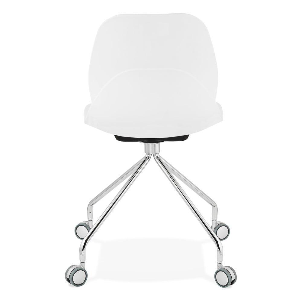 Biela kancelárska stolička Kokoon Rapido