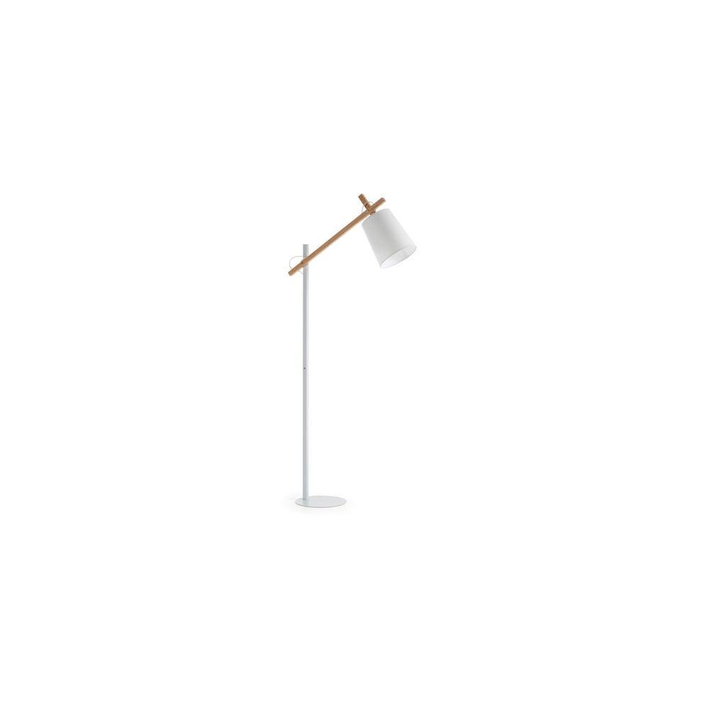 Biela stojacia lampa La Forma Jovik