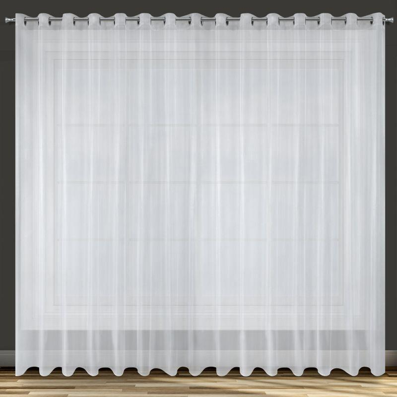 Biela záclona ALEXA 350x250 cm BF