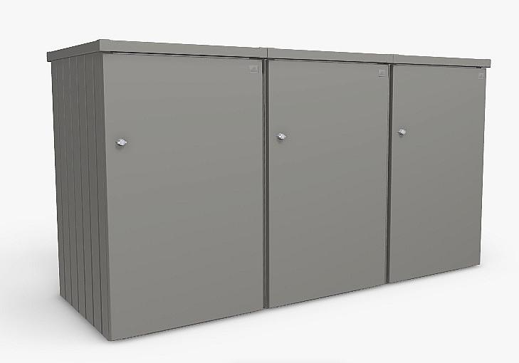 Biohort Box na smetiaku BIOHORT Alex 3 (šedá kremeň metalíza)