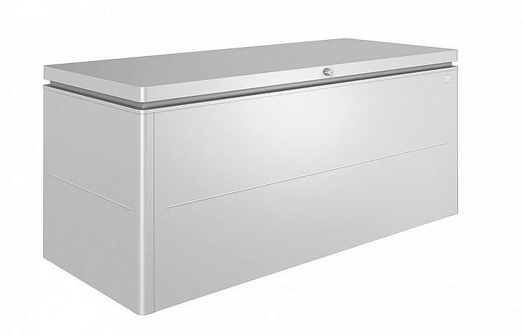 Biohort Designový účelový box LoungeBox (strieborná metalíza) 200 cm (2 krabice)
